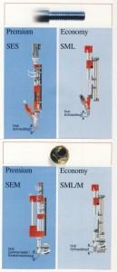 Stationär Schraubspindeln Economy/Premium